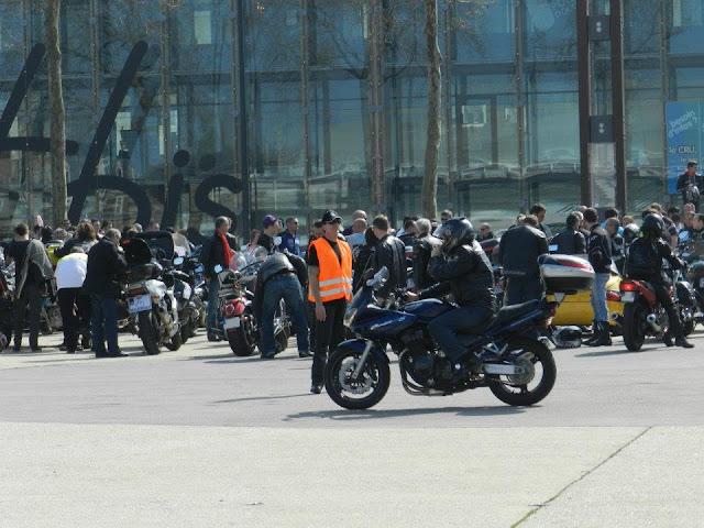 Manifestation FFMC 35 24 mars 2012 - Esplanade Charles de Gaulle