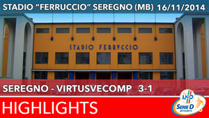 Seregno - VirtusVecomp - Highlights del 16-11-2014