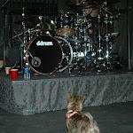 Delta hates the kick drum...Keith antagonizes her