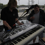 Sammy and Todd plastic wrap my keyboard.  Todd has joined the team...you may remember him from Patty's crew and Dierks' crew.