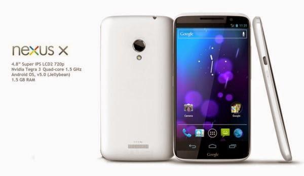 Motorola Nexus X - Spesifikasi Lengkap dan Harga