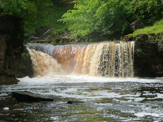 Upper Kisdon Force Falls
