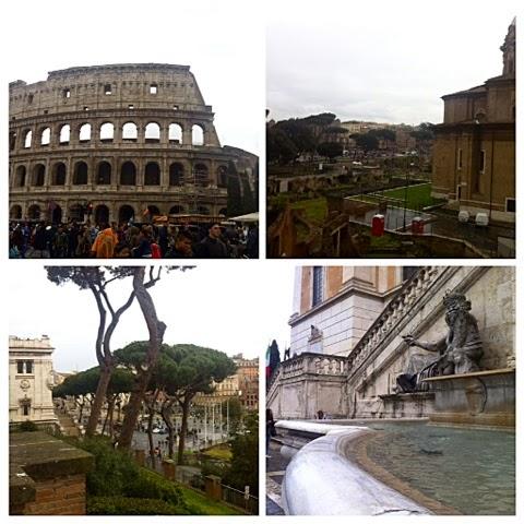 colosseo, colosseum, sights, nähtävyydet, italia, italy, roma, rome, rooma, italia, fountain, suihkulähde,  amphiteater, amfiteatteri, muinainen rooma, forum romanum, roman forum, piazza del campigoglio, square, aukio,