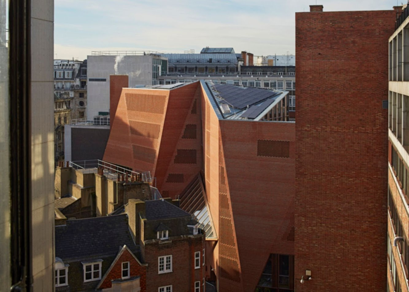 LSE Saw Swee Hock Students Centre by O