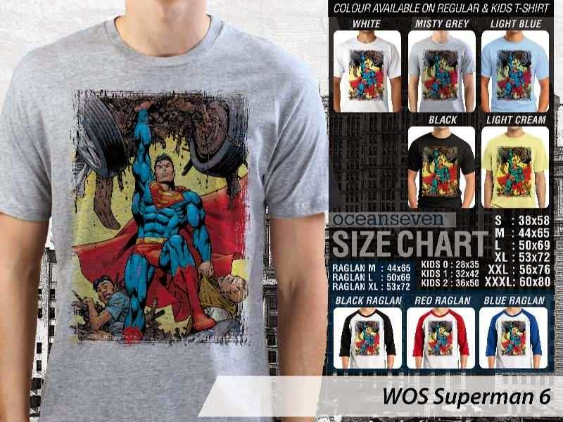 KAOS superman 6 Movie Series distro ocean seven