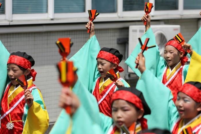 第61回よさこい祭り☆本祭2日目・川村病院27☆上2目0018