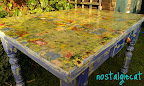 table top napkin decoupage