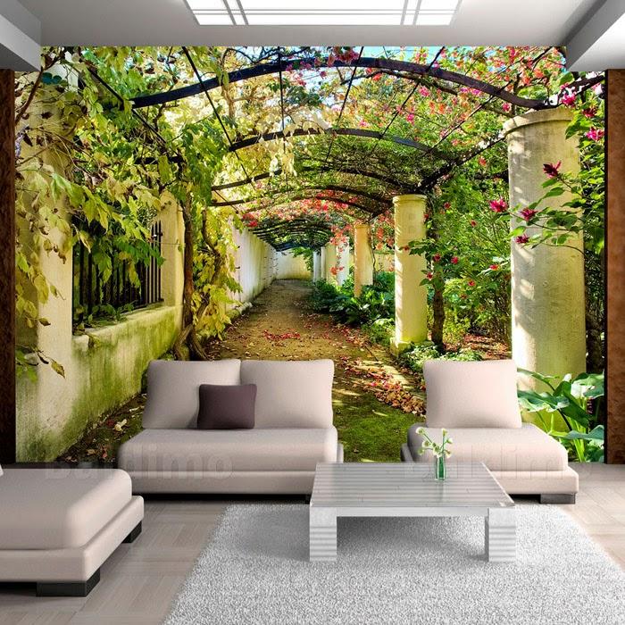 Karibik Für Zu Hause: 40+ Unglaublich Schöne Fototapeten Designs ... Schlafzimmer Einrichten 3d