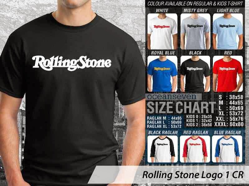 KAOS Rolling Stone 81 Rock Band Legends distro ocean seven