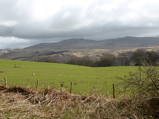 Ulpha Fells from Fell Lane