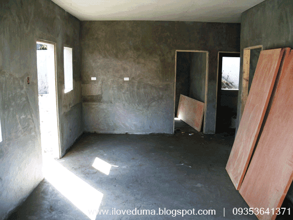 The view of the kitchen of the Dumaguete City house for sale - Del Carmen under construction picture