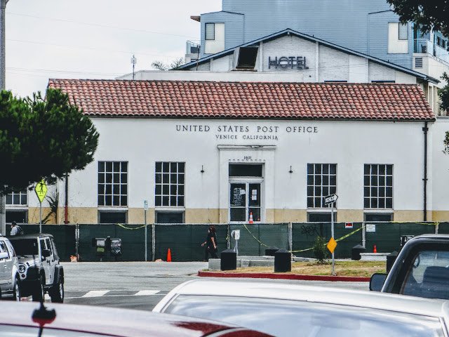 Former Venice, CA post office construction