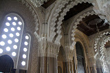 The Interior of the Hassan II Mosque - Casablanca, Morocco