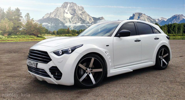 2018 infiniti fx. wonderful 2018 did you know that miamibased vossen wheels has collaborated with a russian  company named rus wheels neither did we and to be frank we probably wouldnu0027t  intended 2018 infiniti fx