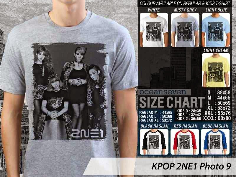Kaos 2ne1 9 Photo K Pop Korea distro ocean seven