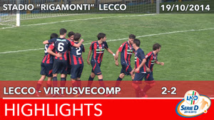 Lecco - VirtusVecomp - Highlights del 19-10-2014