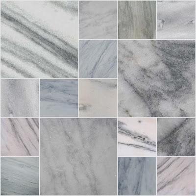 Marmore branco cinza comum