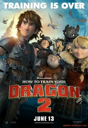 Bí Kíp Luyện Rồng 2 - How To Train Your Dragon 2