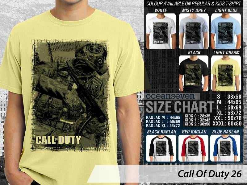 KAOS cod Call Of Duty 26 Game Series distro ocean seven