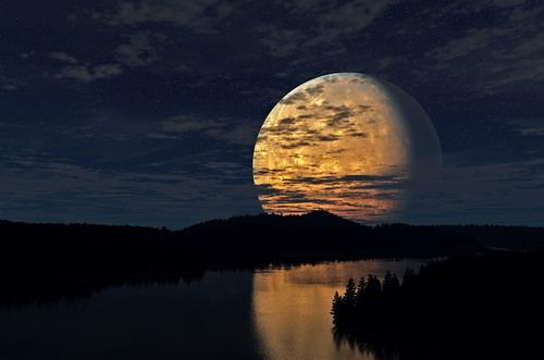 Những bài thơ tình lục bát Sông và Trăng hay nhất