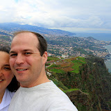 Self-Portrait at Cabo Girao - Funchal, Madeira