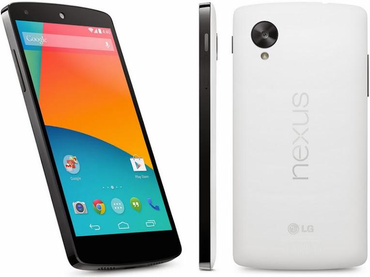 LG Nexus 5 - Spesifikasi Lengkap dan Harga LG Nexus 5