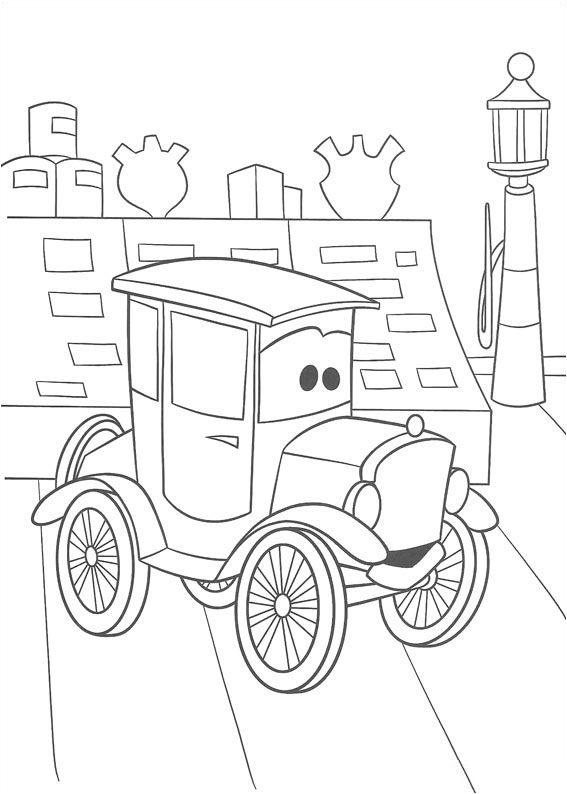 The Fast Lane (Deluxe Coloring Book)(Cars movie tie in