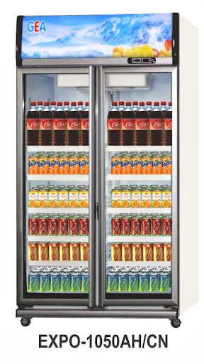 Mesin Pendingin Minuman 2 Pintu (Display Cooler) Kapasitas 1050 Liter : EXPO-1050AH/CN