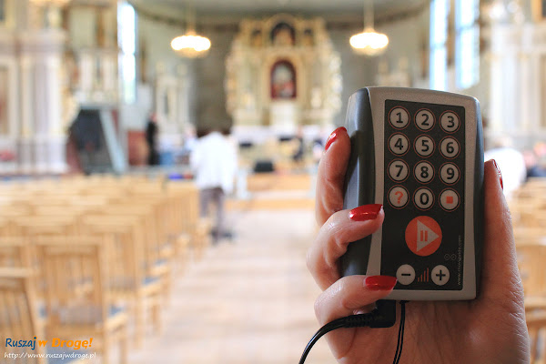 Audioprzewodnik w Kościele Św. Marcina w Sierakowicach