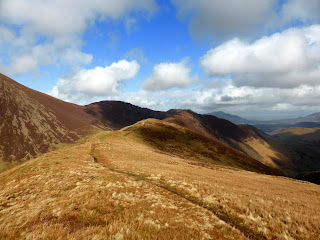 The path to Ard Crags is quite an easy one.