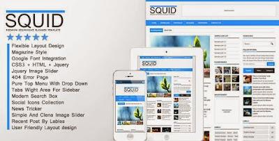 Squid blogger templates