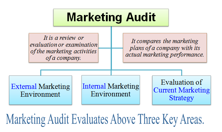 what is marketing audit definition meaning