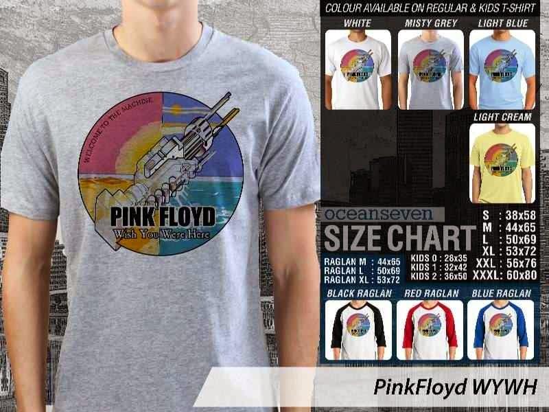 KAOS PinkFloyd 76 Rock Band Legends distro ocean seven