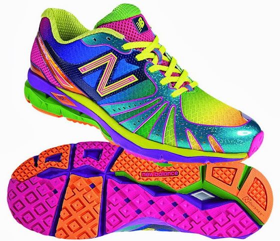 Rainbow New Balance Shoes Womens