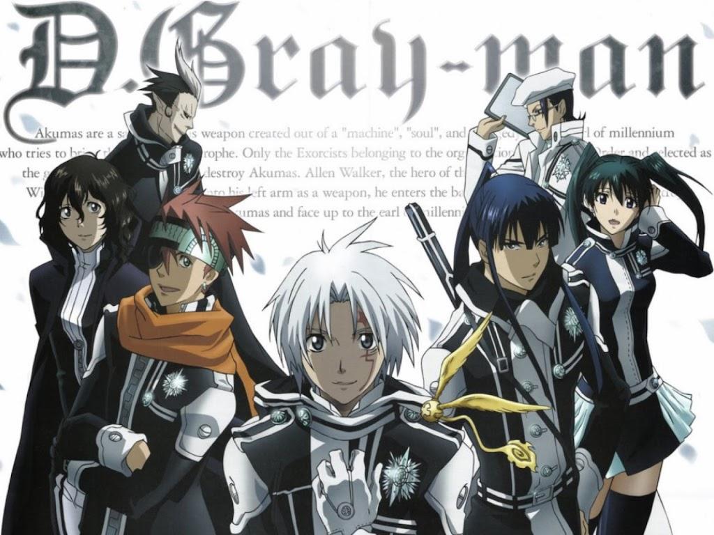 D Gray Man Mp4 Mf