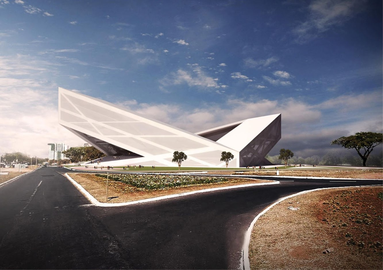 Brasilia - Distretto Federale, Brasile: Brasilia Athletics Stadium by Bf Architecture