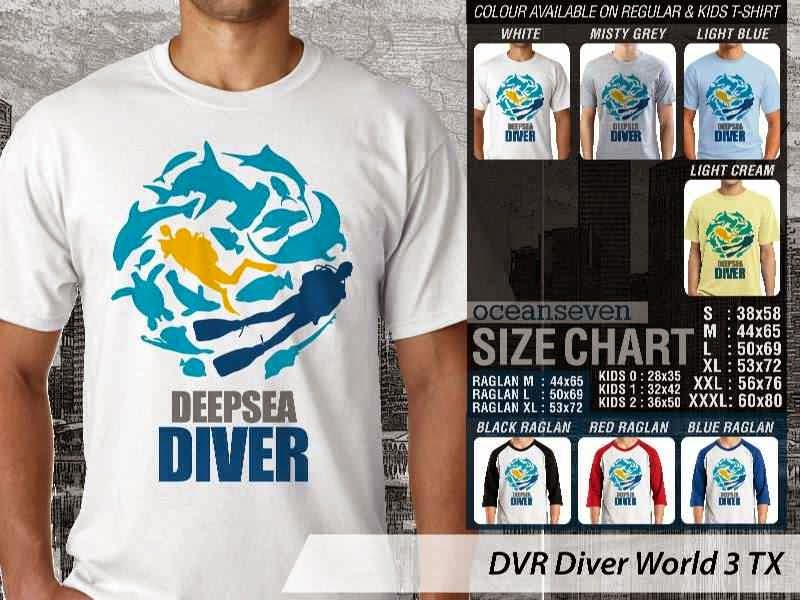 Kaos DVR Diver World 3 TX distro ocean seven
