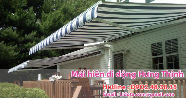 mái che bạt kéo di động , mái  bạt xếp  đẹp giá rẻ chất lượng tại tphcm