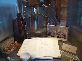 precyzja niczym w aptece - zachowany przepis na piwo