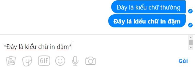 kieu chu in dam tren facebook messenger - Hướng Dẫn Đổi Kiểu Chữ Đẹp trên FaceBook Messenger
