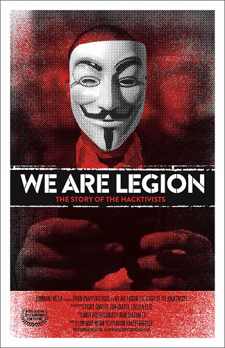 Anonymous Historia haktywizmu / We Are Legion - The Story of the Hacktivists (2012) PL.TVRip.XviD / Lektor PL