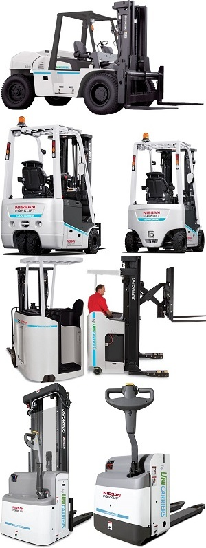 Xe nâng Unicarriers
