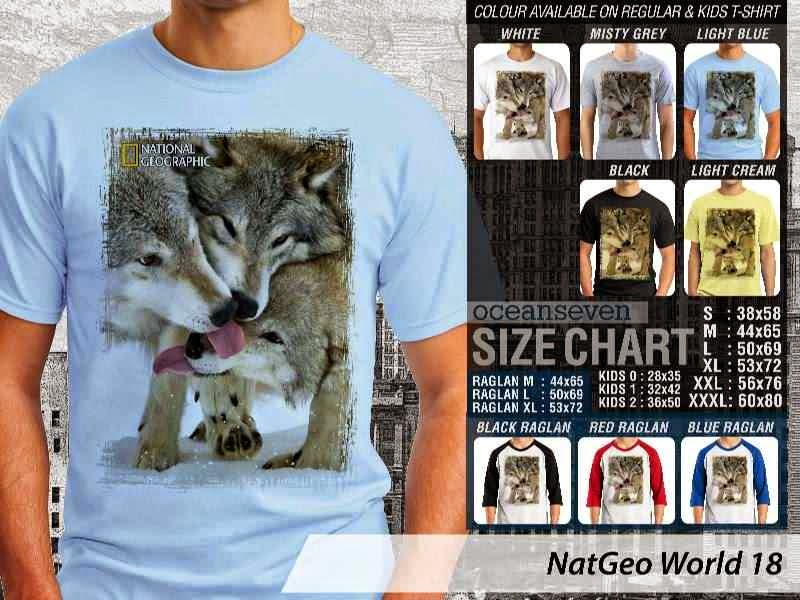 Kaos National Geographic NatGeo World 18 distro ocean seven