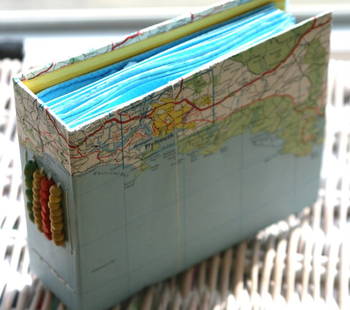 Fabric Book Covers - Textile Holiday