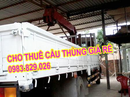 cho thuê xe cẩu chở hàng vận chuyển hàng giá rẻ nhất Hà Nội. Dịch vụ thuê xe cẩu hàng tốt