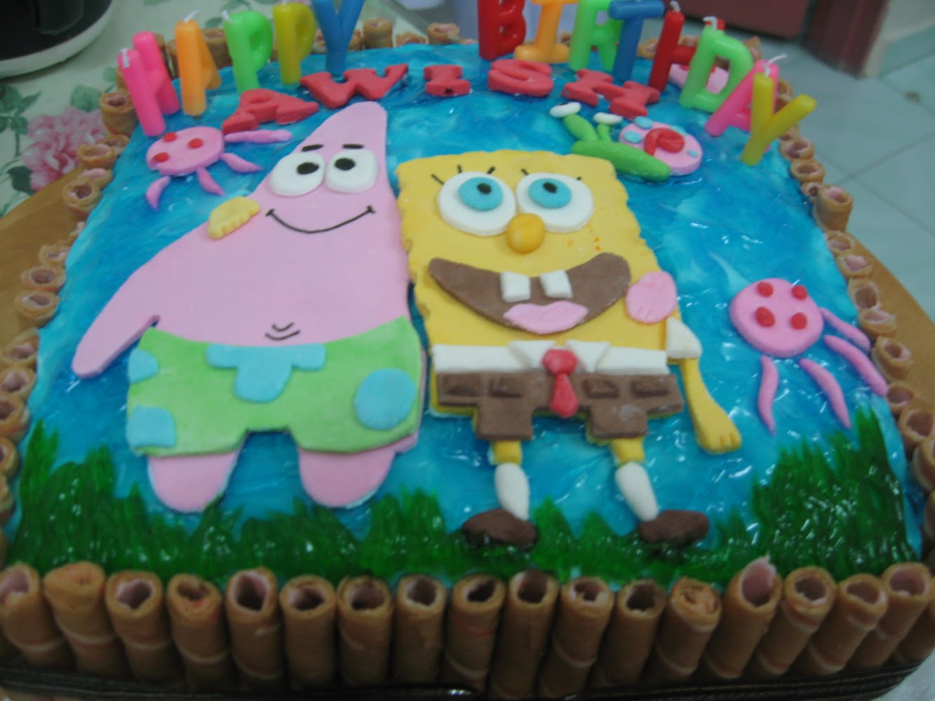 Birthday Cake - Spongebob