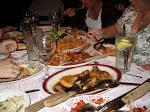 A true Buca di Beppo feast
