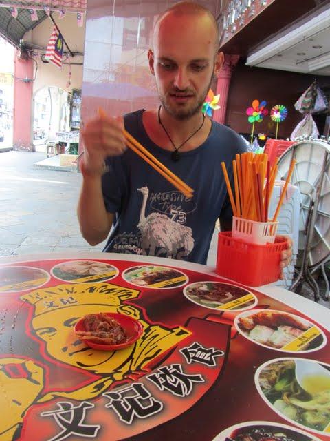 China town noodle soup KL