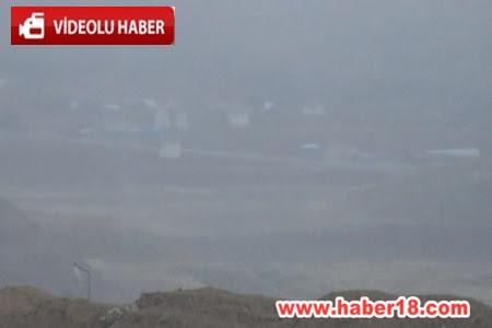 Çankırı'da Kar Yağışı Başladı