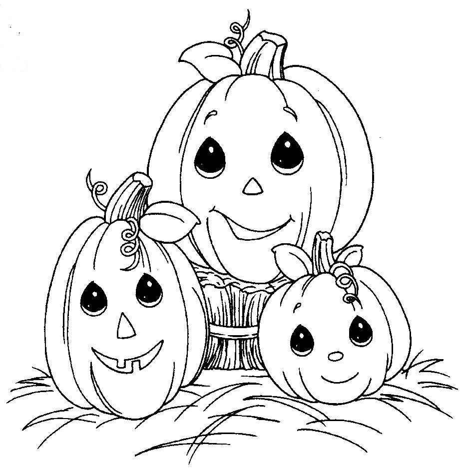 pumpkin halloween coloring pages - Free Printable Pumpkin Coloring Pages For Kids